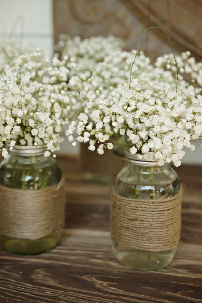 Love baby's breath for any wedding !   My Big Day Events, Colorado Weddings, Parties, Corporate Events & More!  Loveland, Fort Collins, Windsor, Cheyenne, Mountains. http://www.mybigdaycompany.com/sloshball.html  #backyard #wedding #ideas