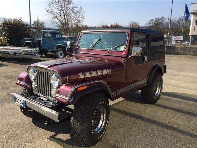 Jeep Cj 7 Laredo 5000 V8 Automatico Jeep Cj Auto Auto Nuove