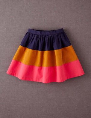 Inspiration for a three stripes Oliver + S Lazy Days Skirt