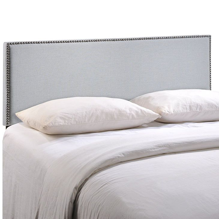 Modway Furniture Modern Region King Nailhead Upholstered Headboard #design #homedesign #modern #modernfurniture #design4u #interiordesign #interiordesigner #furniture #furnituredesign #minimalism #minimal #minimalfurniture