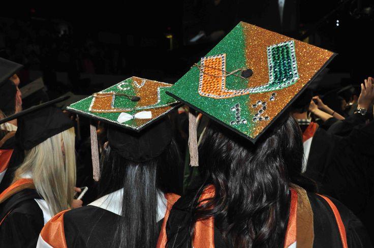 Abschlusskappe der Universität von Miami