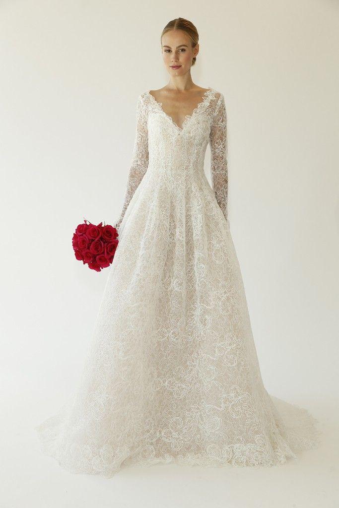 Oscar De La A Bridal Fall 2017