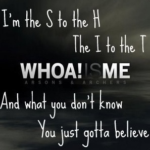 Whoa Is Me - Down With Webster