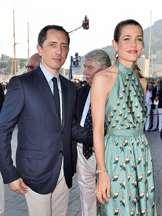 Charlotte Casiraghi and Gad