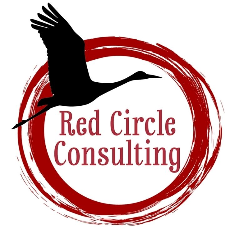 Red Circle Consulting Logo - Red Circle Consulting specializes in a full array of community engagement work, outreach, presentations, projects, and workshops. The core focuses include: building bridges, expanding awareness, and creating understanding around often difficult and complex issues. The goal is to meet challenges with solutions that are aligned with healing and justice.