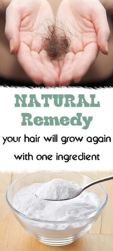 Natural Remedy for Hair loss with 1 household ingredient. Home remedy for hair loss. Healing hair loss naturally.