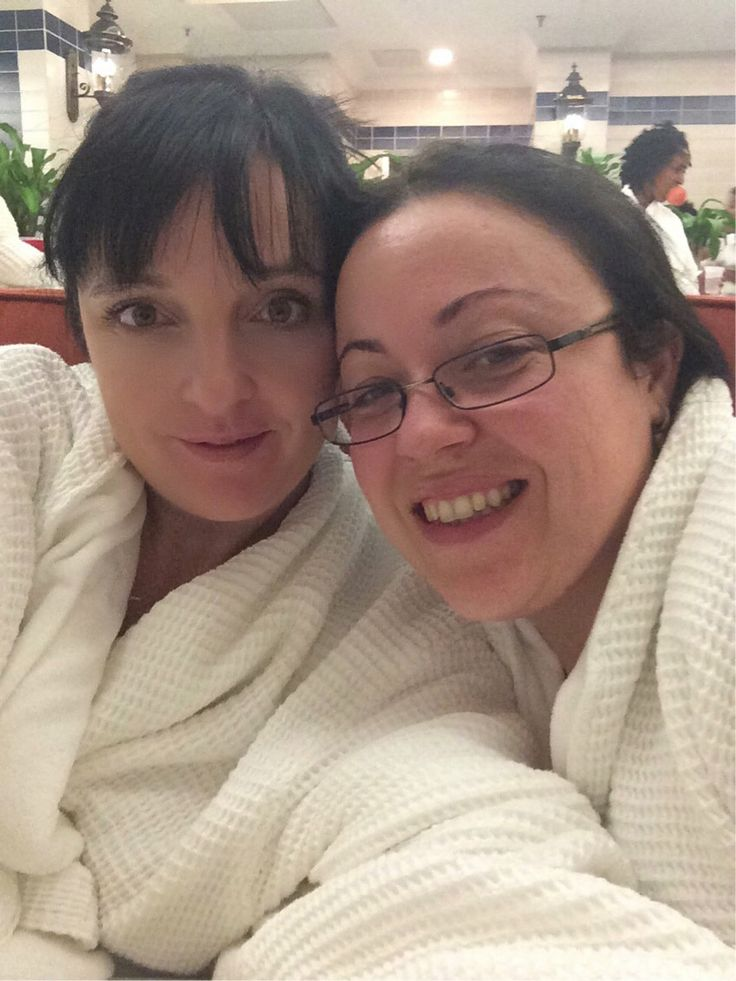 Spa day with Paula on my birthday !
