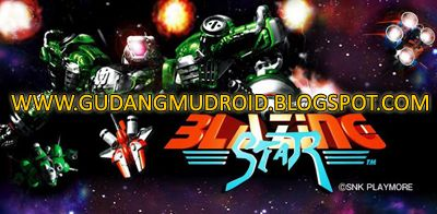 "Free Download Blazing Star v1.5 Apk + Data Full Version 2016, GudangmuDroid | Free Download Game Android, Apk and Software, The legendary Blazing Star Apk NEOGEO 2D action shooting masterpiece ""Blazing Star Apk"" heads out to Android devices! Shoot down enemies with your powerful options and various weapons! Not only a perfect port of the original NEOGEO game Blazing Star Apk! In addition to its classic ""ARCADE MODE"", this perfect conversion of ""Blazing Star Apk"" includes a ""MISSION MODE""…"