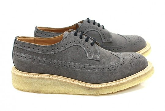 Tricker's Grey Golosh Brogues for Eight Hundred Ships, 2012