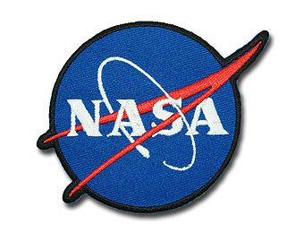 NASA Patch -  NASA  Embroidered Iron on Patch / Applique /