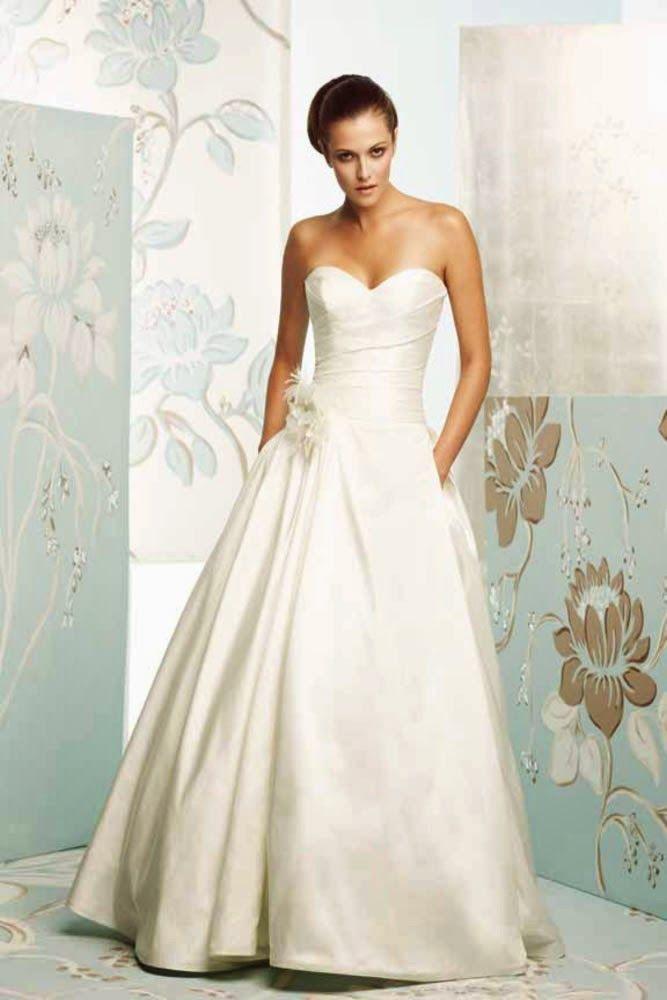 94 besten Wedding Dresses Bilder auf Pinterest | Hochzeitskleider ...
