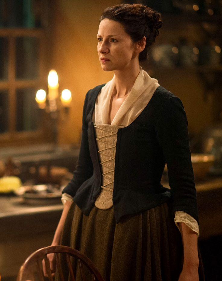 Claire Fraser (Caitriona Balfe) in Episode 211 of Outlander Season Two on Starz