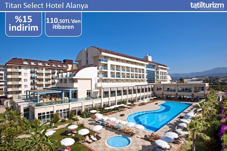 Mutfağında taze deniz ürünleri ve Türk damak tadının çeşitli lezzetlerini barındıran Titan Select Hotel Alanya'da tatil 110 TL'den başlayan fiyatlarla… Üstelik 0-12 yaş çocuk ücretsiz.