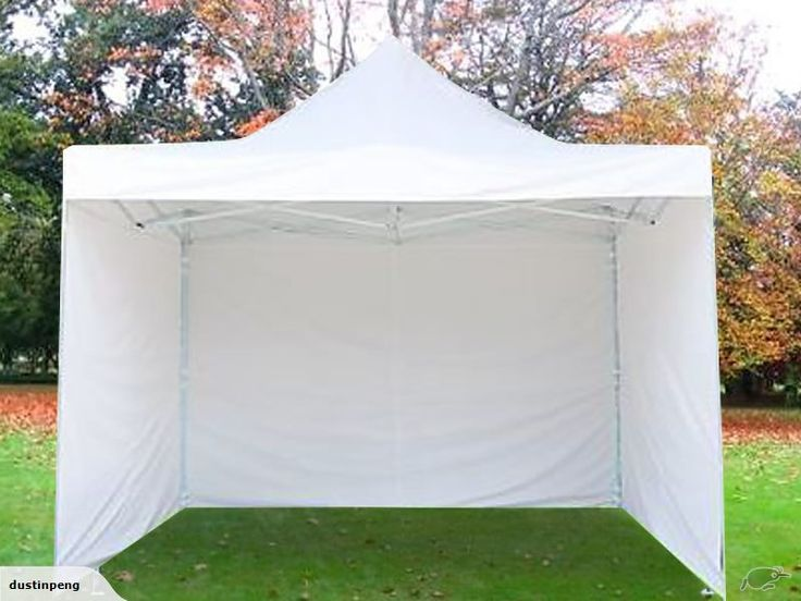 Gazebo + 3mx3m 3 Side Walls - Heavy Duty - White | Trade Me