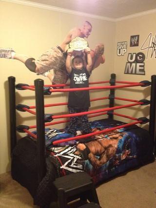 Best 25 Wwe Bedroom Ideas On Pinterest Wrestling Ring
