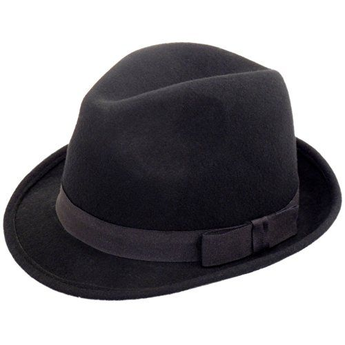 100 kr. RElegant Gentlemans Traditional Felt Trilby Hat, Black, 57cm Hawkins Hats http://www.amazon.co.uk/dp/B017WPCZTY/ref=cm_sw_r_pi_dp_0Ih3wb0CXE76Q