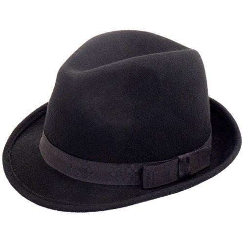 100 kr. RElegant Gentlemans Traditional Felt Trilby Hat, Black, 57cm Hawkins Hats http://www.amazon.co.uk/dp/B017WPCZTY/ref=cm_sw_r_pi_dp_0Ih3wb0CXE76Q
