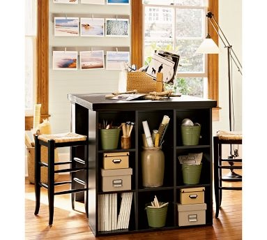 craft room ideas bedford collection. Customize A Spacious, Organized Workspace For All Your Creative Endeavors With The Hardwood-framed Pieces In Our Bedford Collection. Craft Room Ideas Collection