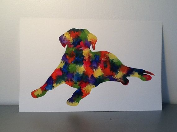 26 best images about Abstract Dog Paintings on Pinterest ...