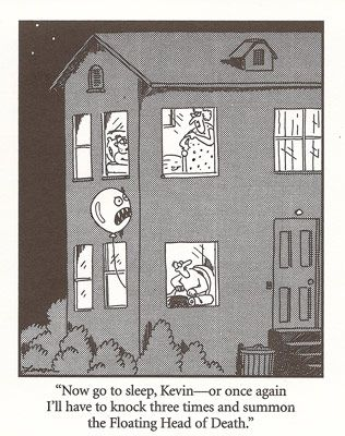 Best Far Side Cartoons | Love means not having to come up with a clever title - Big Mama
