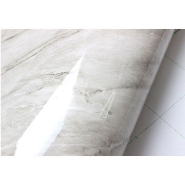Granite 2m Marble Effect Film Self Adhesive Peel Stick Wallpaper