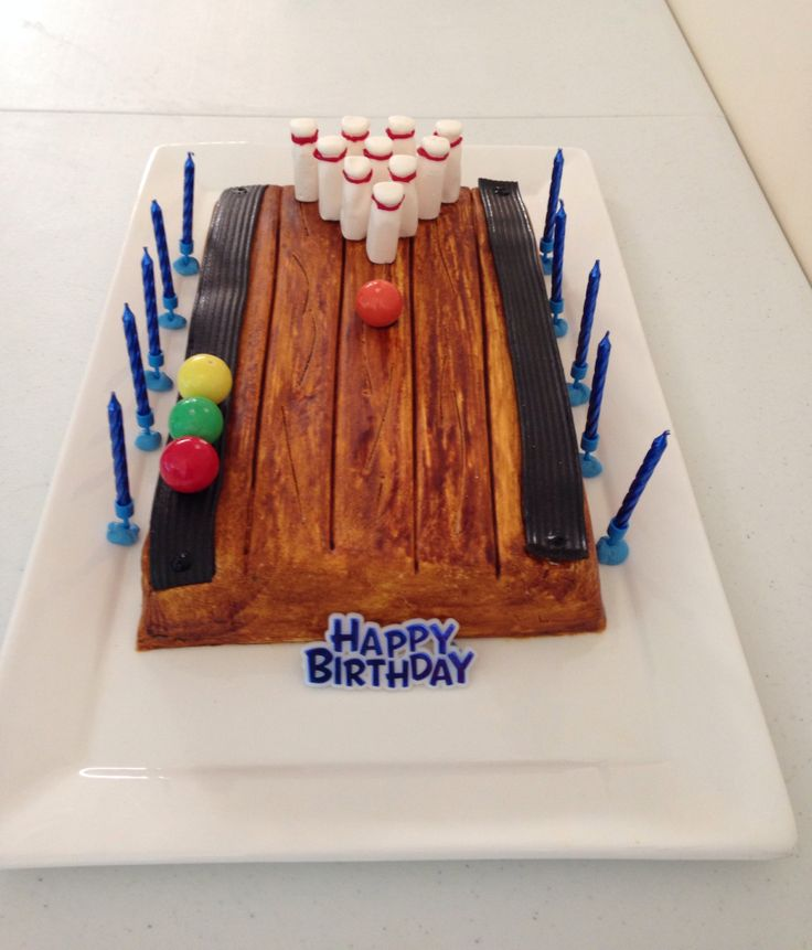 24 Best Images About Awesome Bowling Birthday Cakes On