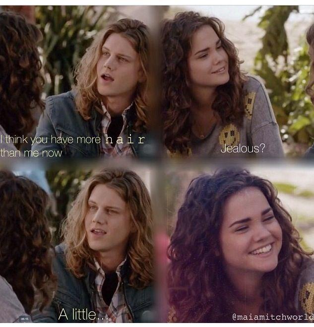 Repost it ....Callie & Wyatt's Funny Scene The Fosters