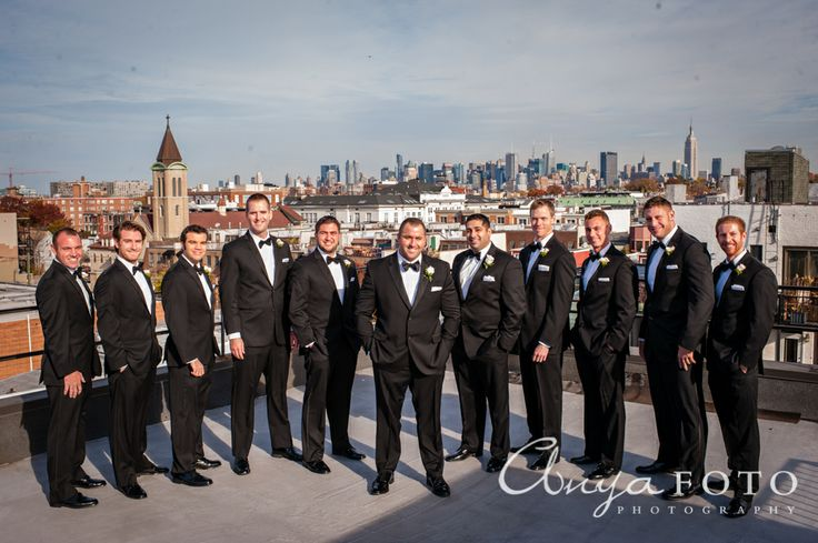 Groomsmen anyafoto.com, wedding, men's fashion, black groomsmen suit, groomsmen suit ideas