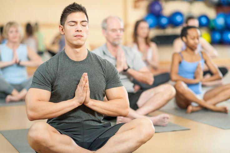 A Macho Man Takes His First Yoga Class