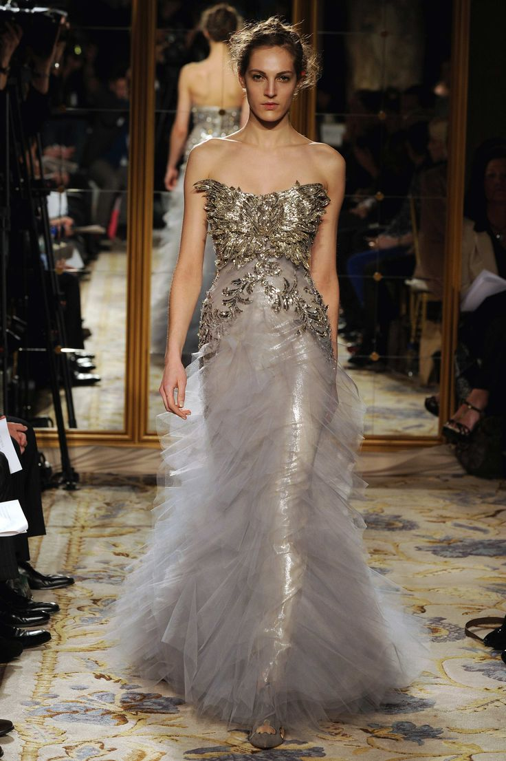 Stunning Marchesa Gown Look 22 Wedding Dresses Color