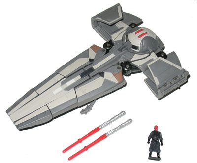 Basic Figures Darth Maul to Sith Infiltrator (Transformers, Crossovers, Trade Federation) | Transformerland.com - Collector's Guide Toy Info