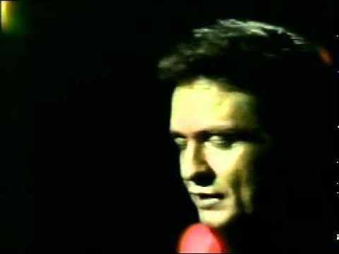 25 minutes to go-Johnny Cash.