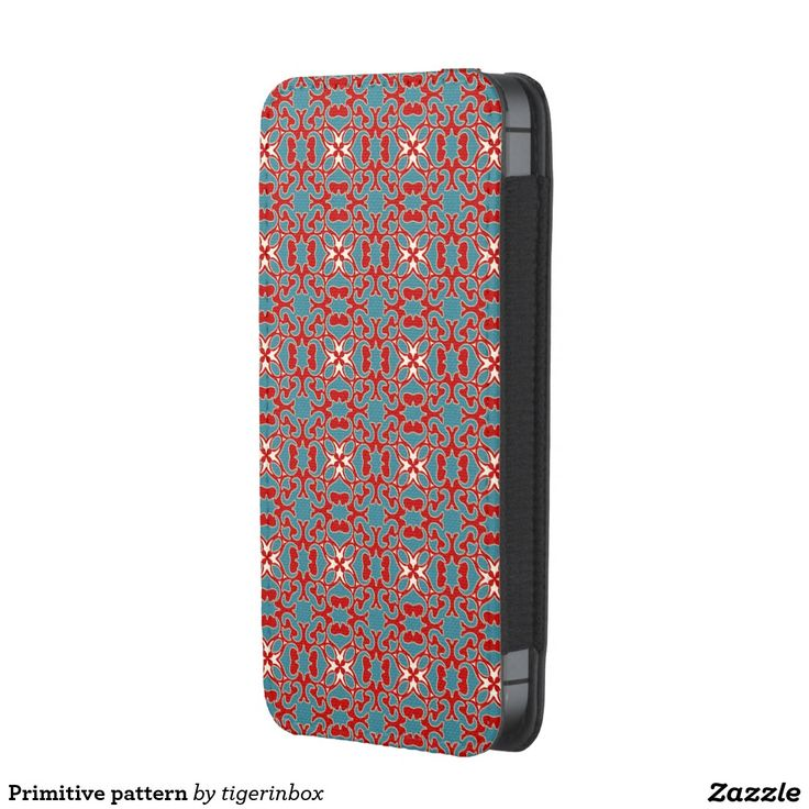 Primitive pattern iPhone SE/5/5s/5c pouch