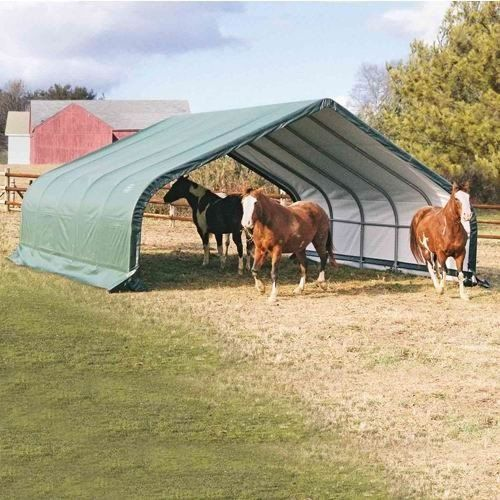 Portable Hay Shelter : Best hay storage ideas images on pinterest
