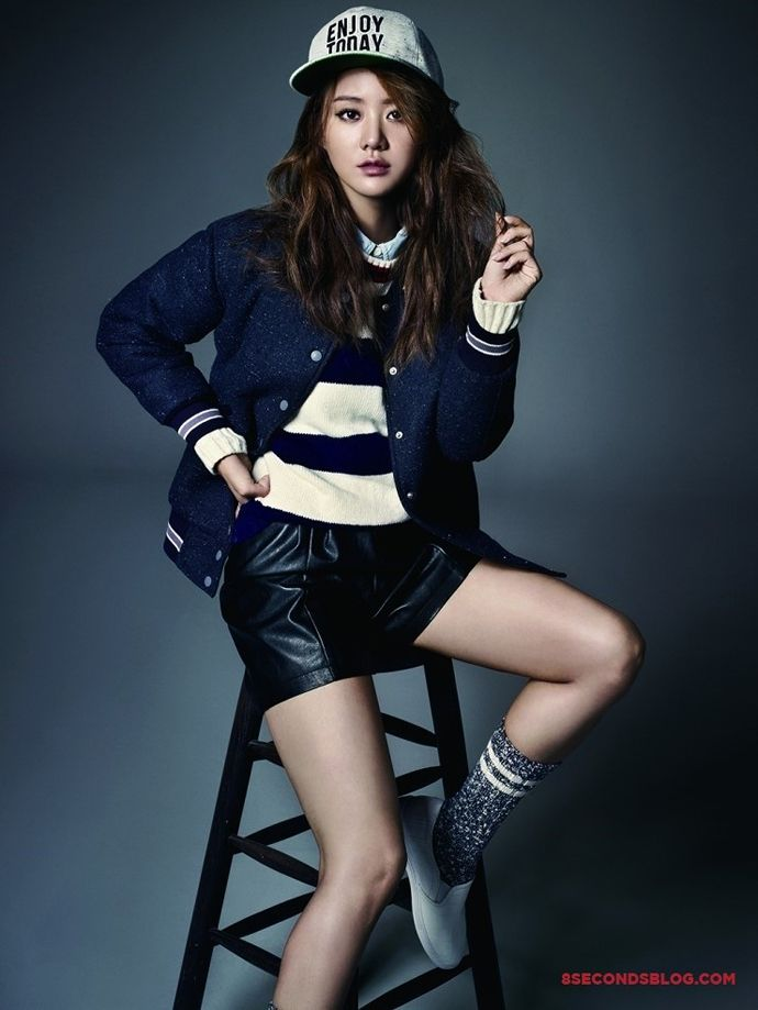Han Groo For CéCi's October 2014 Issue + 8 seconds' F/W Ad Campaign   Couch Kimchi