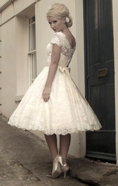 i LOVE unique wedding dresses. Something short, or a color (other than white), sleeves, a peep of the leg or something not so over done. Every bride has a strapless dress and I'm sick of seeing them on every bride...make it as unique as you are!