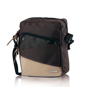 Tas Sling Pria Cokelat [SMM 845] (Brand Inficlo) Free Ongkir