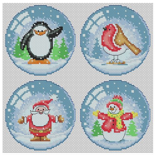 christmas-cross-stitch-patterns | Lucie Heaton Cross Stitch Designs