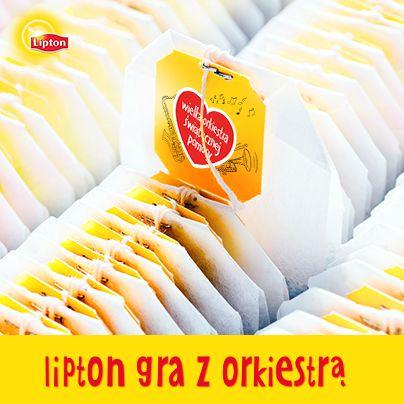 Lipton gra z Orkiestrą