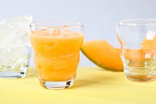 Cantaloupe orange cooler