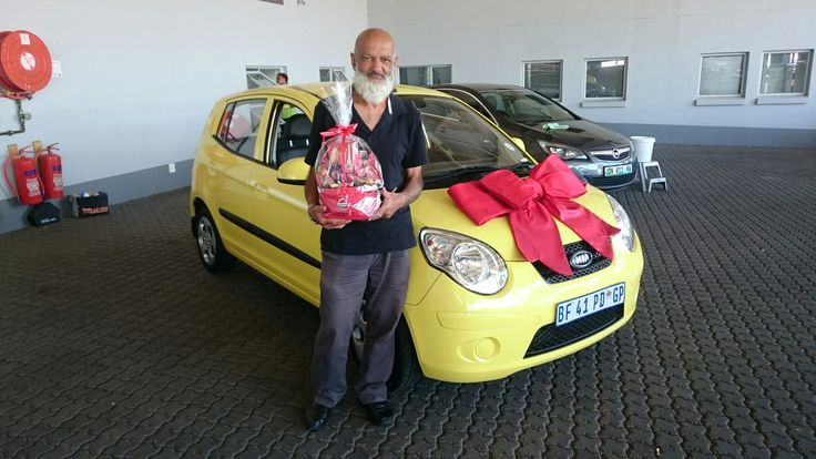 #Congratulations to Mr Bhyat from #Ormonde #JHB on his #Kia #Picanto Wishing you many happy miles!   Contact me for all your #new #used #preowned #demo #cars #bakkies #sedans #hatchbacks #SUV #Coupe ALL MAKES AND MODELS! I have over 1,500 cars available in our group!   #Finance available, #best prices for your trade in, I #deliver across SA!   0828858780 www.deviantdealer.co.za