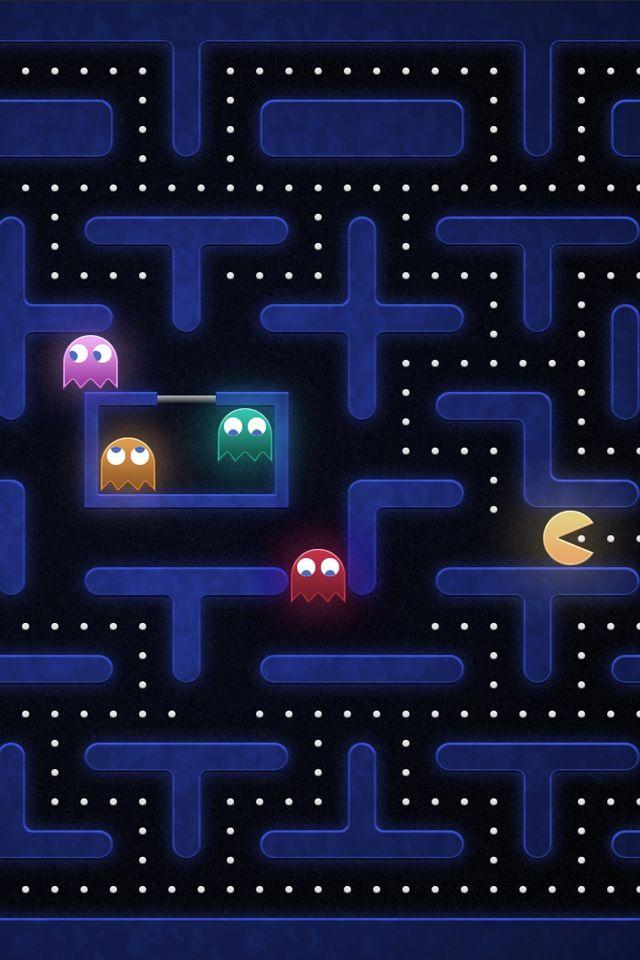 Pac Man 80 S Video Game Atari Nintendo Art