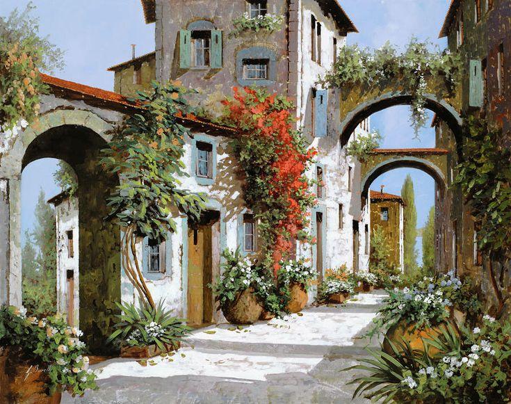 Le stradine della città antica. L'artista Guido Borelli .. Discussione sulla LiveInternet - Servizio russo diario online