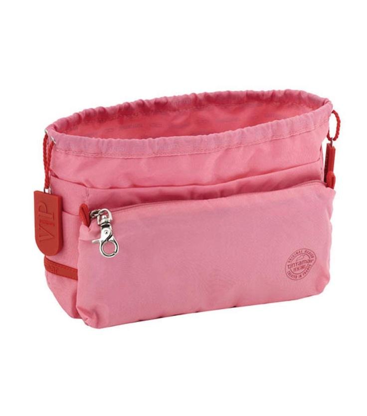 Tintamar Tas in tas hoeft niet perse deze te zijn, maar kleine tas in tas om over te pakken in lichte kleur