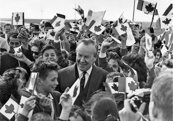 """Lester B. Pearson: my favourite Prime Minister."" yep. hard to argue with that. Nobel Peace prize winner. Adopter of the Canadian flag."