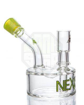 nexus glass 14mm slime lip puck vapor rig