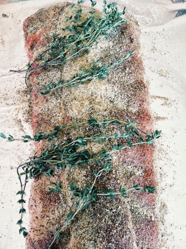 YUMOLOGY: Greek Style Dry Rub Ribs
