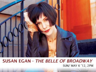 Broadway star Susan Egan originated the Broadway role of Belle in Disney's Beauty and the Beast, starred in the title role of Thoroughly Modern Millie, and her vivid portrayal of Sally Bowled in Cabaret ran longer than any actress in Broadway history. Having sold out three Carpenter Center Cabaret appearances, Susan returns with an altogether different show, performing an electrifying line up of some of Broadway's most memorable songs!  www.carpenterarts.org