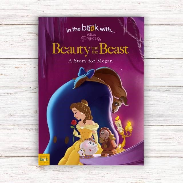 Personalised Children's Book - Beauty And The Beast | GettingPersonal.co.uk