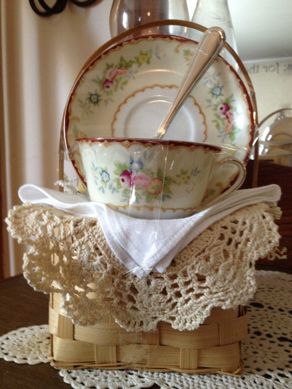 Tea Time for Me Gift Basket FREE SHIPPING by NostalgicDreamsBNB, $29.00